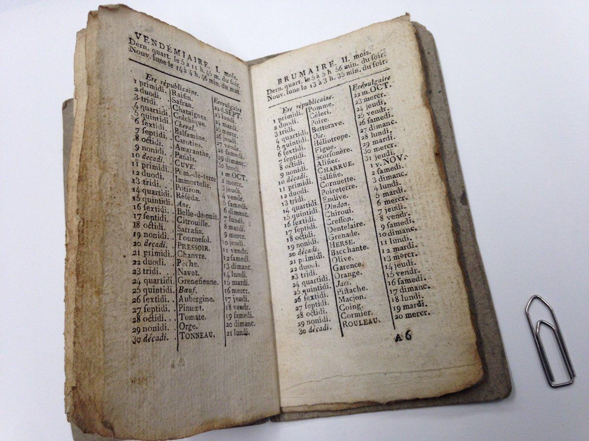 Calendrier Republicain 1793.Archives D Etat Valais On Twitter Conserve Dans Le Fonds