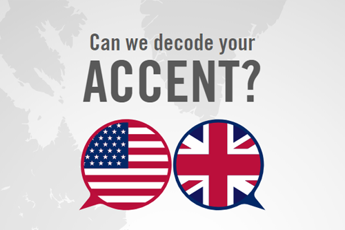 "CambridgeConsultants on Twitter: ""How British / American is your accent?  Try out MyAccent #AI at #CES2018. Not in Vegas? Head to  https://t.co/47cxXjQuCX… https://t.co/1jyBj4lpk3"""