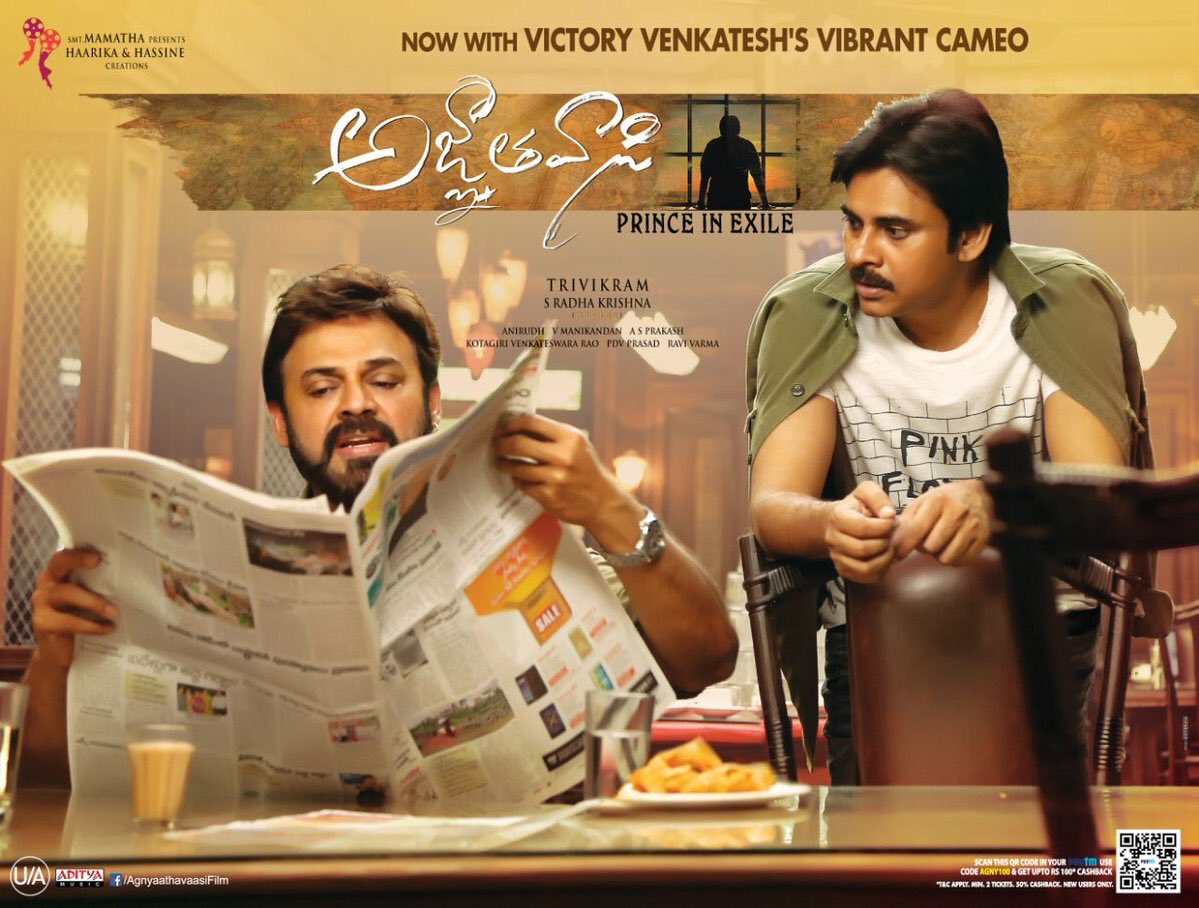 Agnyaathavaasi has joined the US$ 2 Million Club In USA