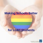 Learn how YOU can help make schools better for LGBT Students. Save your spot! https://t.co/VOdWgaFBjG #LGBTQyouth
