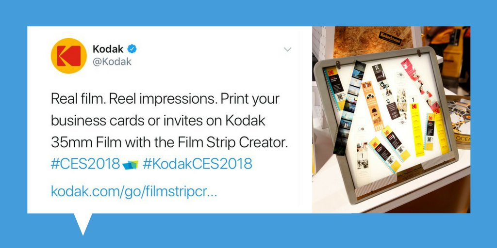 Cinema printing company on twitter ces2018 day 4 visit the kodakces2018 httpkodakgoces 35mm believeinfilm filmphotography printed businesscards filmfestivals london supportindiefilmpicitter reheart Image collections