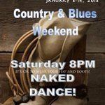 Image for the Tweet beginning: This WEEKEND! Country & Blues Weekend!