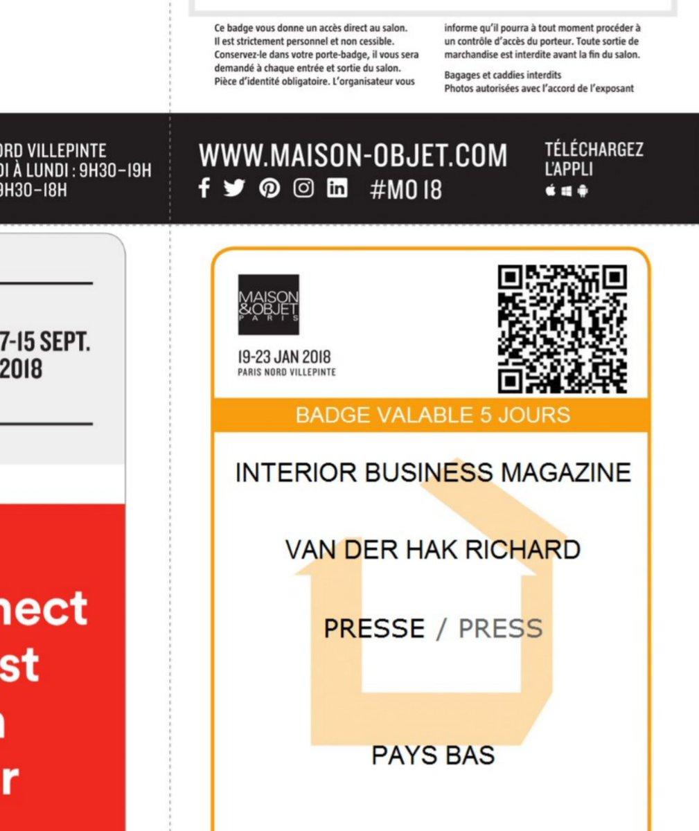 """Maison Du Nord Magazine vakblad interior business magazine on twitter: """"next week"""
