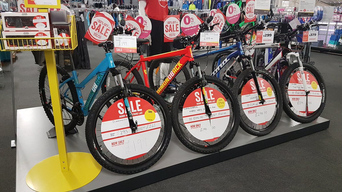... bike in the #sale @GOoutdoors with great bikes from @CalibreBikes #kona and #diamondback starting at only £199 with your #discountcard #doncasterisgreat ... & GOoutdoors Doncaster on Twitter: \