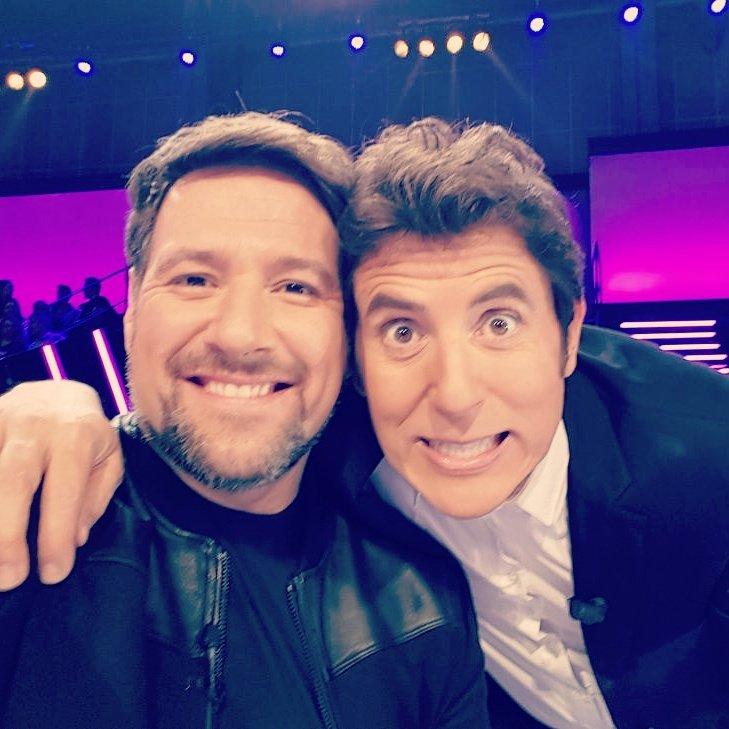 Con mi presentador favorito ;)) @Fuentes...