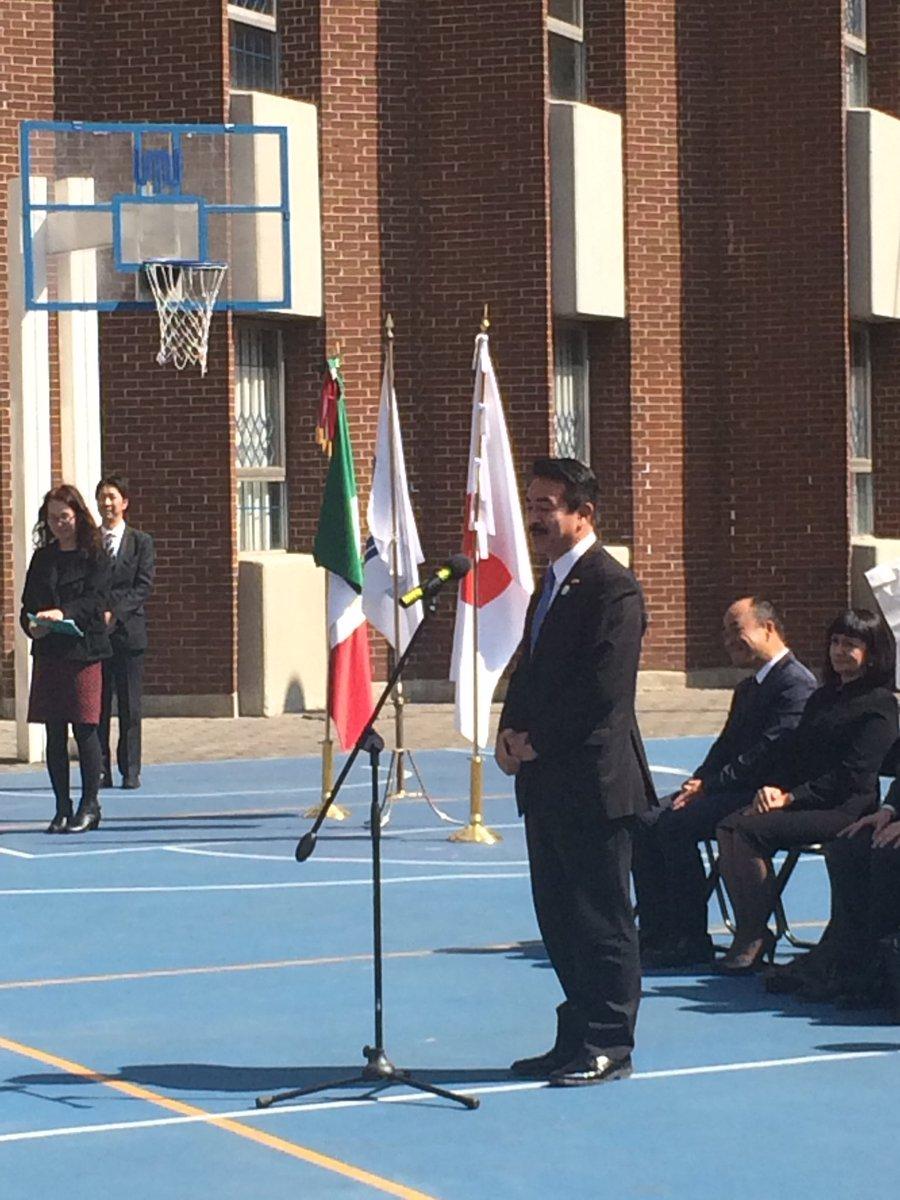 【日メキシコ学院訪問、歓迎の歌、温かい出迎えに感動】 1977年に、田中総理とエチェベリア大統領間の…