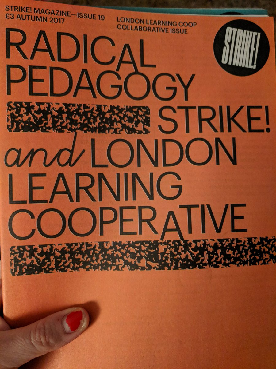 Get home from #radicalkent18 to find this has arrived in the post, how fitting! #radicalpedagogies #radicalpedagogy #punkpedagogies #punkpedagogy @strikeyo @London_Learning