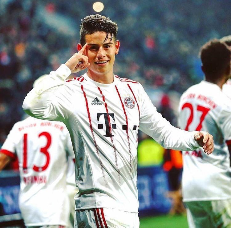 RT @jamesdrodriguez: Welcome 2018👌🏼 https://t.co/SvEXZEhO6k