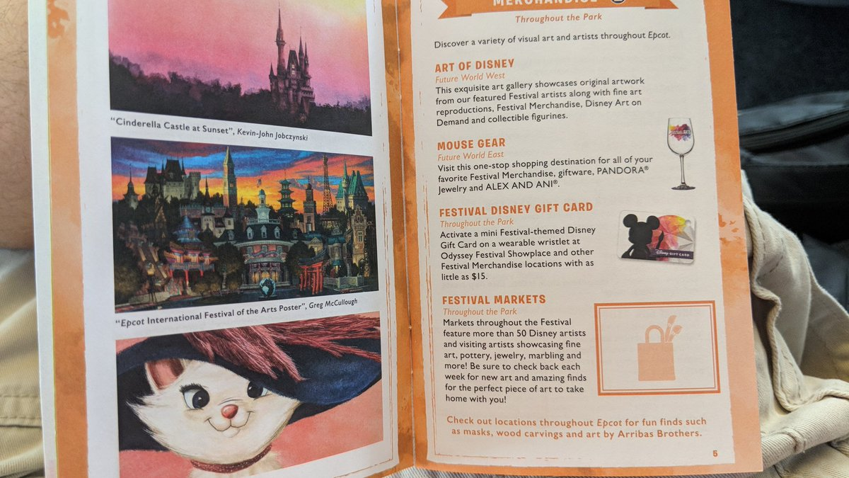 Kennythepirate Com On Twitter A Few Photos Of The Free Passport Booklet 2018 Epcot Festival Of The Arts Artfulepcot