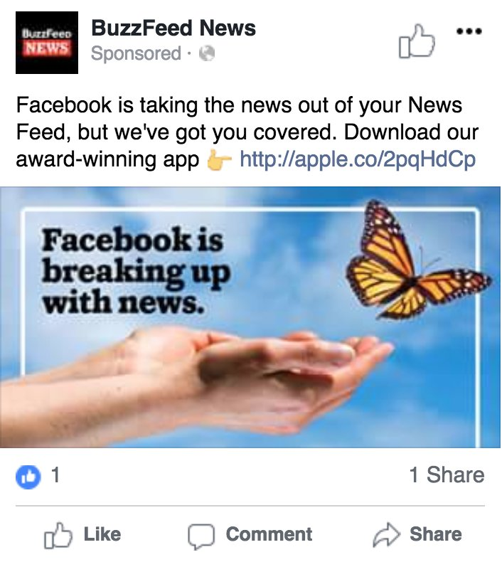 Facebook is trying to prove it's not a media company by dropping the guillotine on a bunch of media companies