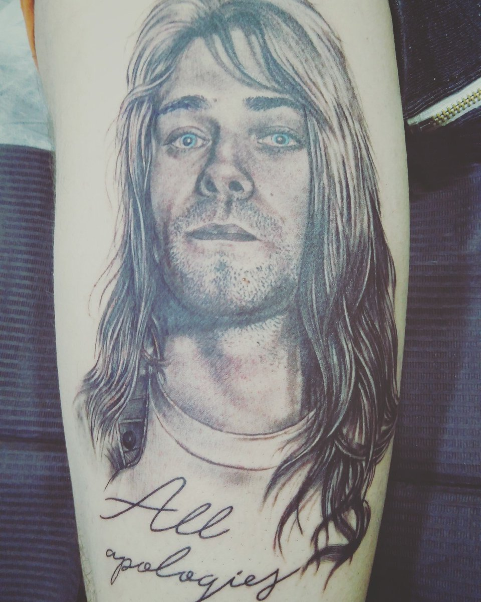 The Devil Reject On Twitter My At Kurtcobain Tattoo By