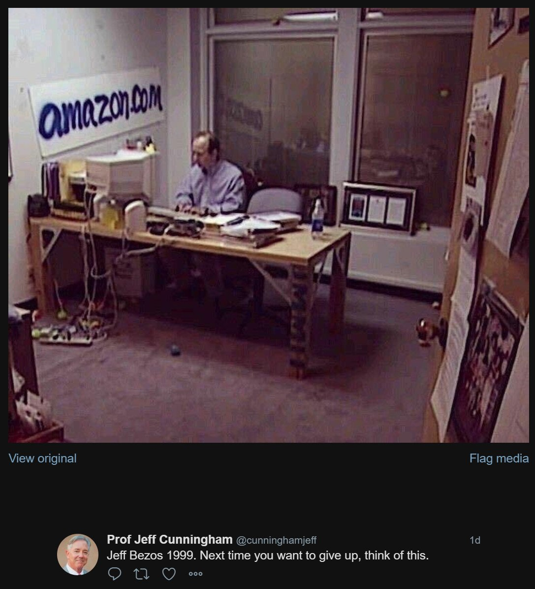 Bill Gross On Twitter When This Picture Of Jeff Bezos Was Taken In