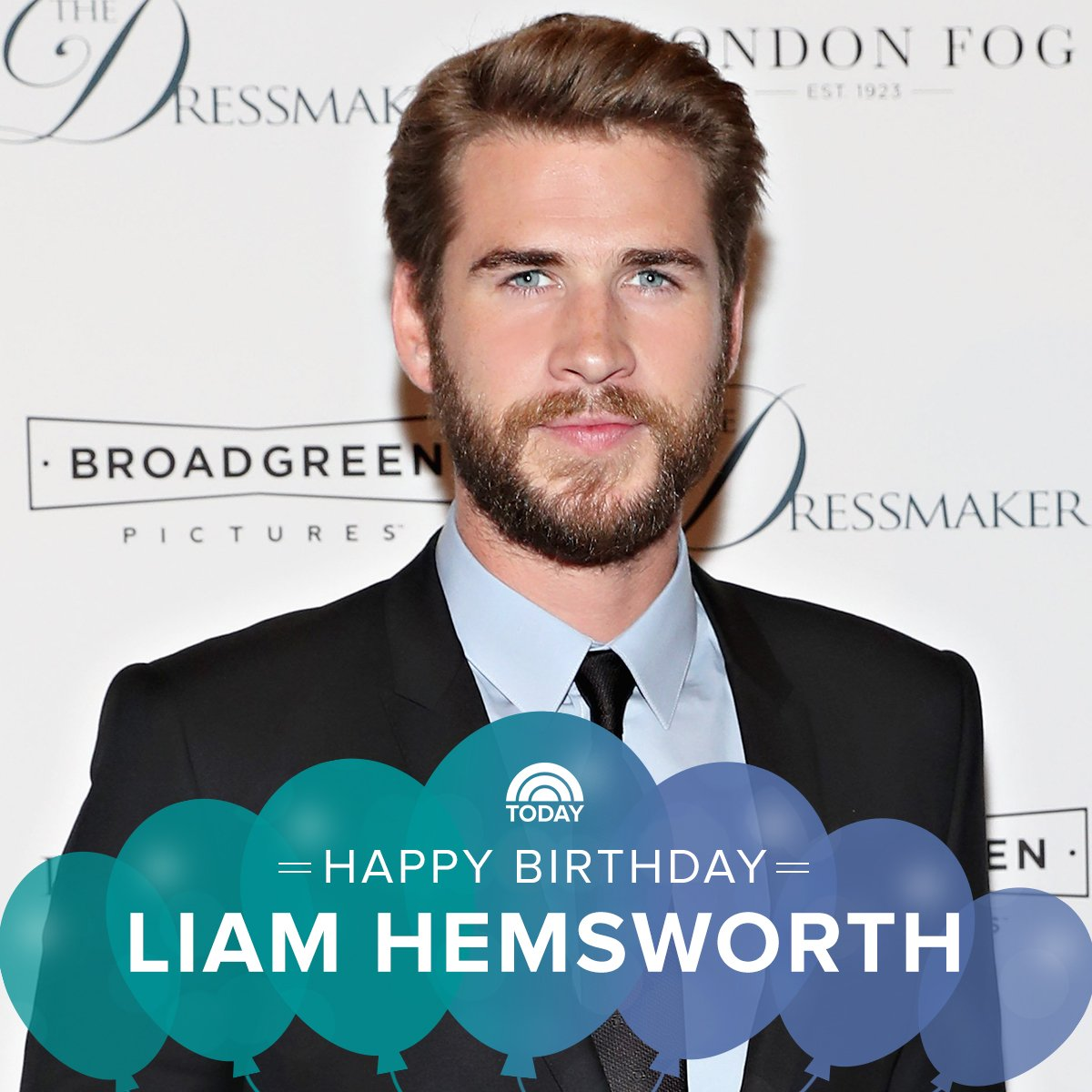 Remessageed TODAY ( Happy birthday, Liam Hemsworth!