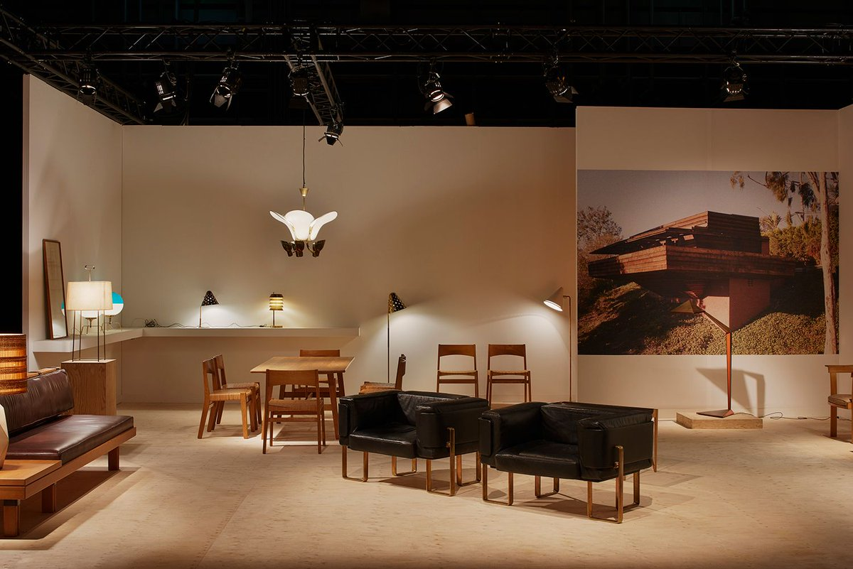 #Flashbackfriday: Remembering Galerie Eric Philippe's booth at #DesignMiamiBasel. Eric opened his gallery situated in the center of Paris in 1980. An expert in twentieth-century furniture, he specializes in European and North American design from 1920 to 1980 #GalerieEricPhilippe<br>http://pic.twitter.com/c5BNMhBZ5S