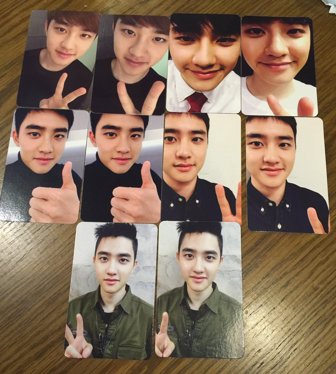 RT @dksbeingextra: [23♡] ↳「kyungsoo's photocards」    we love a consistent king! #HappyKyungsooDay https://t.co/WyTT7Y8hsg