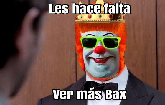 @chochos Les hace falta ver más Bax http...