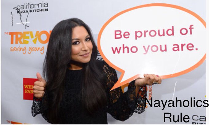 Naya Rivera  ( Santana Lopez ) 12.January, 1987 !  Hey Naya happy birthday !
