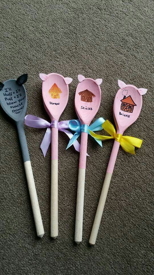 wooden spoon pig craft gillet on quot maternelle je n avais jamais 5783