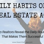 ⚠️ EPIC POST ⚠️ The Daily Habits of 8 Top Real Estate Agents 🏆 feat @KyleHiscockRE, @PaulSianJD, @massrealty, @WWeirRelocation, @vegashomepro, @Anita_Clark and more! https://t.co/CjUiFAMqB1 #realestate #realtor #realestateagent #sellinghomes