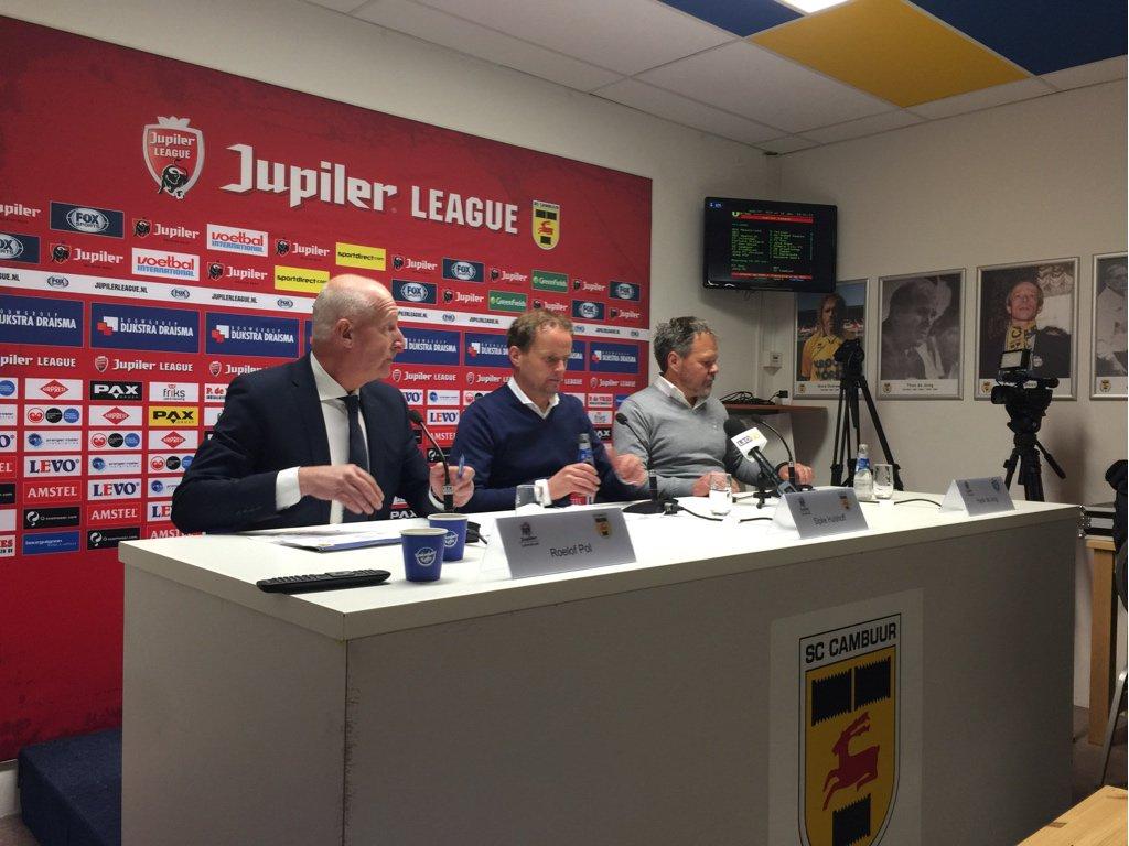 """Henk Albers On Twitter: """"Persconferentie Begint:…"""