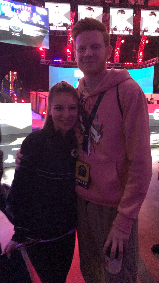 Couldn't get a pic with my twin @OpTic_S...