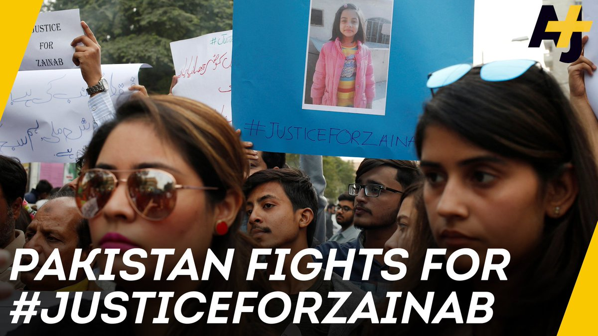 RT @ajplus: Pakistan continues to grieve and fight for #justiceforzainab. https://t.co/RsXFk8MLP5