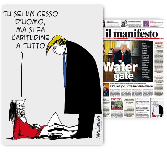 #Trump #cesso Welcome. Oggi per @ilmanif...