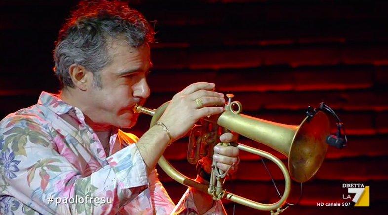 Paolo Fresu e la #propagandaorkestra  #propagandalive https://t.co/JVLBbP0p70