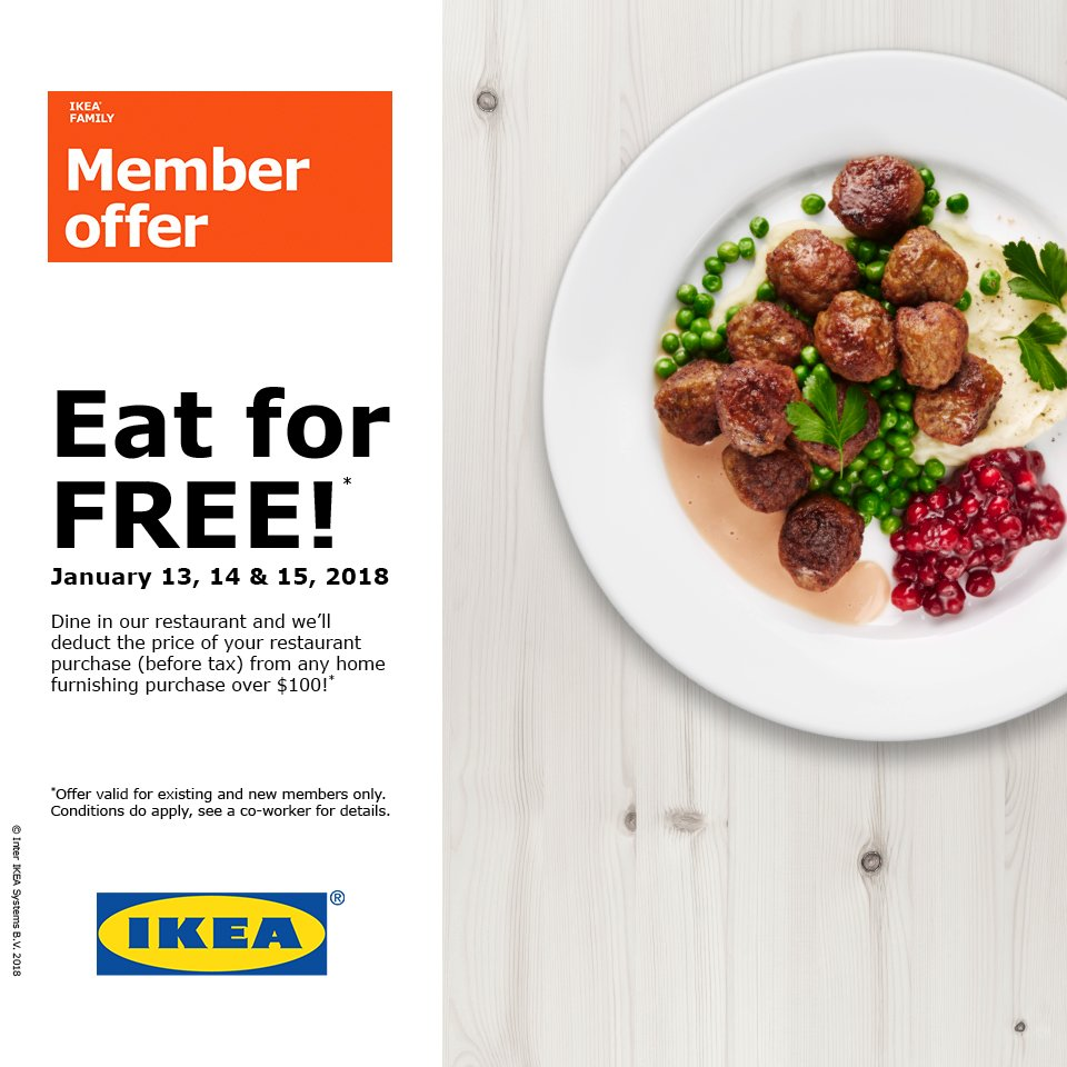 Ikea Las Vegas On Twitter Join Us This Weekend For Our Eat For