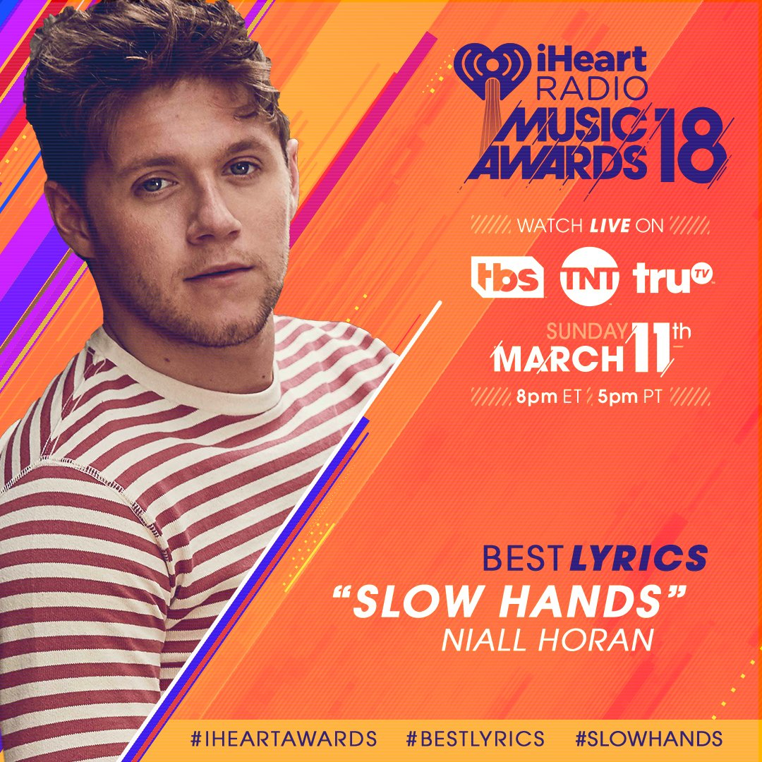 RT to vote for @NiallOfficial's #SlowHan...