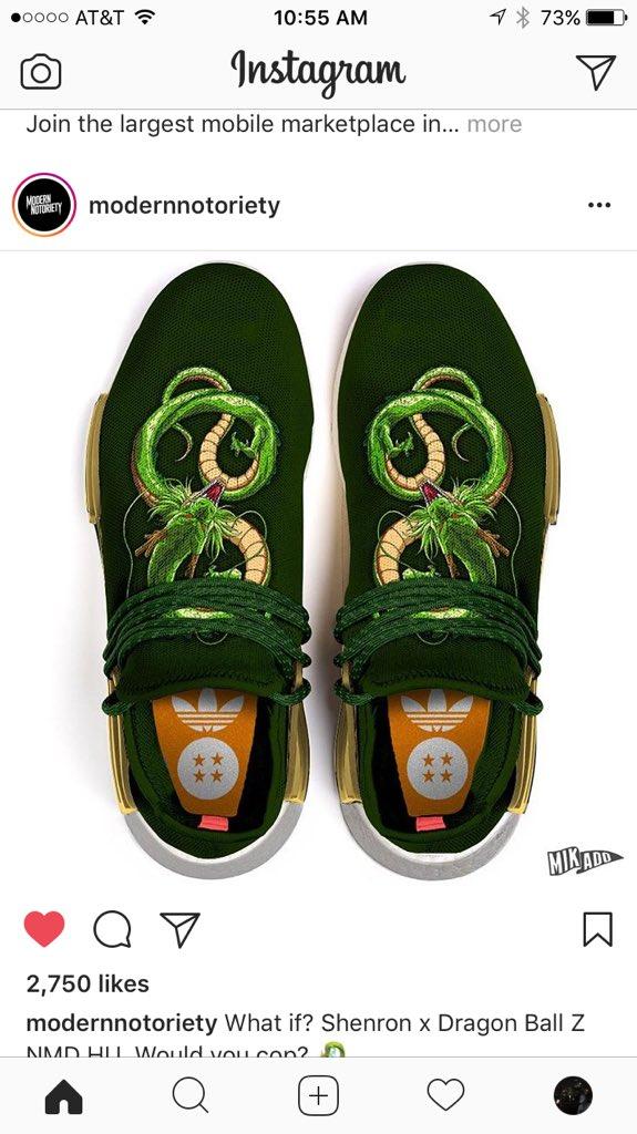 dragon ball adidas shenron