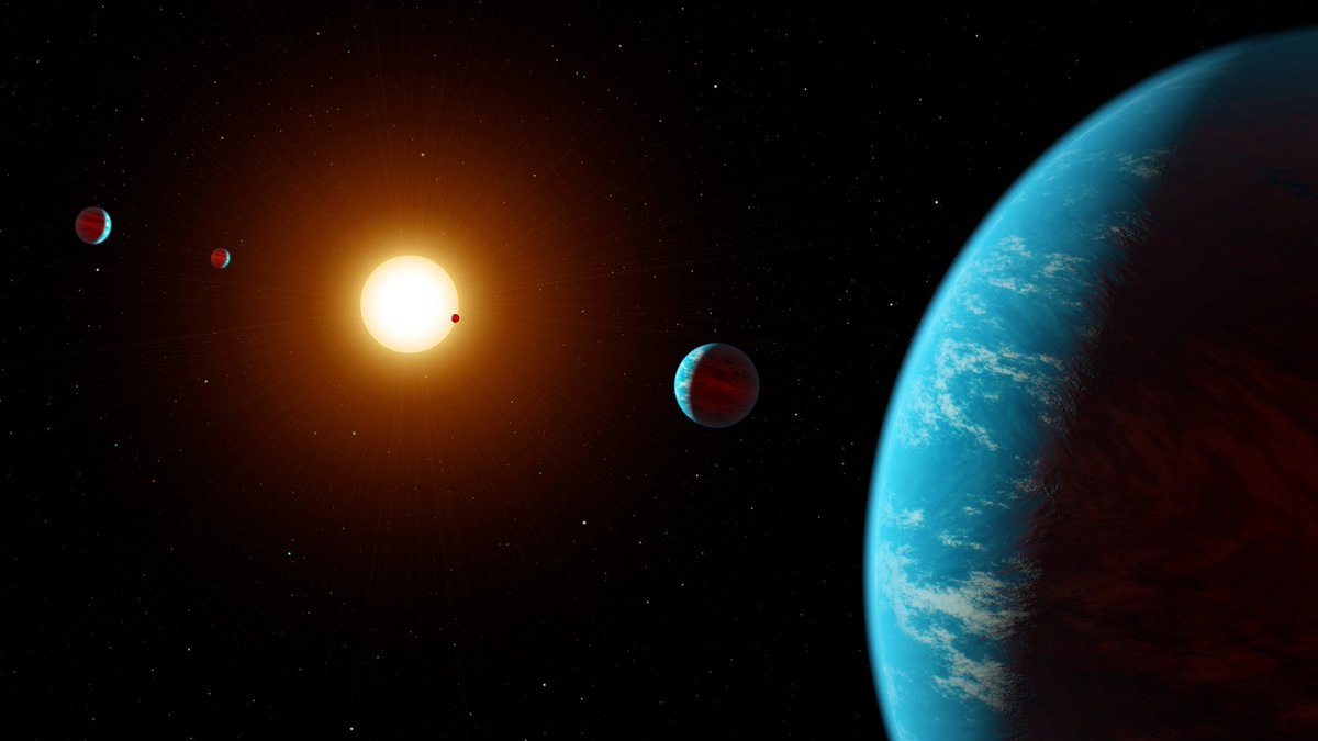 A multi-planet system has been discovered for the first time entirely through crowdsourcing. Hats off to you, #citizenscience! 🔭 https://t.co/mG4kXdY5ly