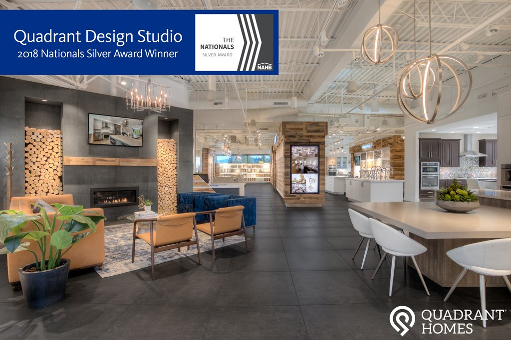 Quadrant Homes On Twitter We Were Honored To Be Recognized At This Years Nahb Convention Winning A Silver Award For Best Design Center At The Nationals Thenationals2018 Designed4life Explore The Studio Https T Co Y9knpvkri5