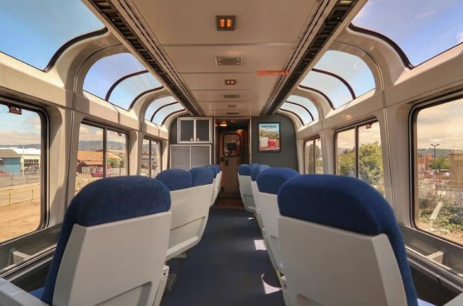 You Can Take One of America's Most Breathtaking Train Rides for Only $97: The Pacific coast, from Seattle to Los Angeles, is yours for less than $100. https://t.co/cZQRCfYmq6