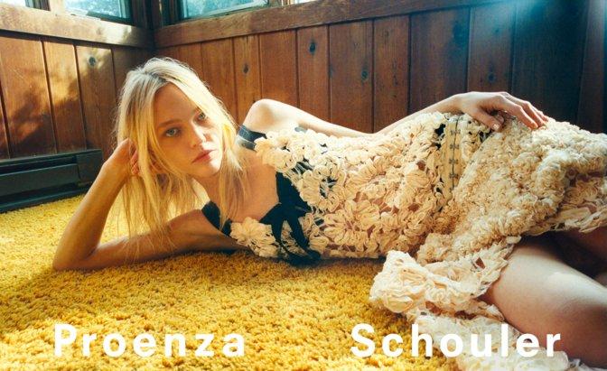 .@proenzaschouler unveils earthy SS18 ca...