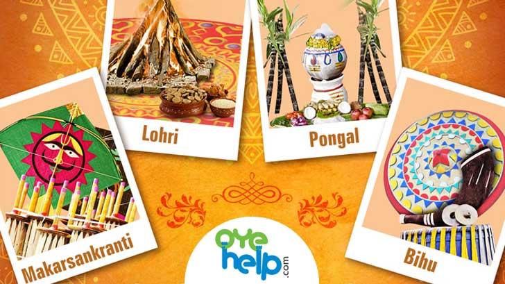 May this harvest season bring you prosperity. Wishing you a very happy #Lohri, #Pongal, #Bihu & #MakarSankranti. #OyeHelp