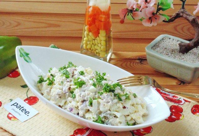 Салат из свинины рецепт