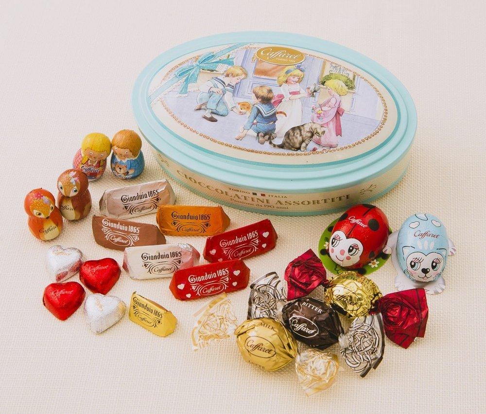 伊老舗チョコ「カファレル」のバレンタイン、バッグ型の缶に動物モチーフ&ハートのチョコ - https://t.co/gfeJrAnXKR
