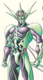 Zetman looks strangely alot like Mirukami in his Zoalord form from Guyver... 🤔 #animetwitter #Guyver #Zetman