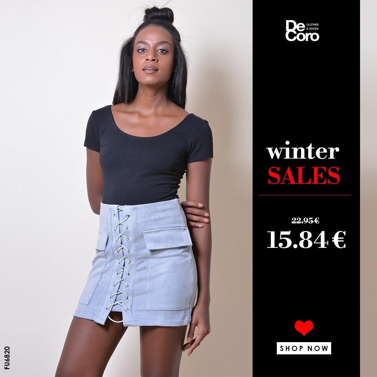 mmm... What a Cute Suede Skirt 😘  Τιμή: €15.84!! | Φούστα Suede Ψηλόμεση με Διακοσμητικό Δέσιμο & Τσέπες  | κωδ. FU6820 __________________________ 🚚 Δωρεάν Αποστολή & Αλλαγή Shop Online |  ☎️ 2310 555520 #clothes #skrit #sales #DeCoro #suede