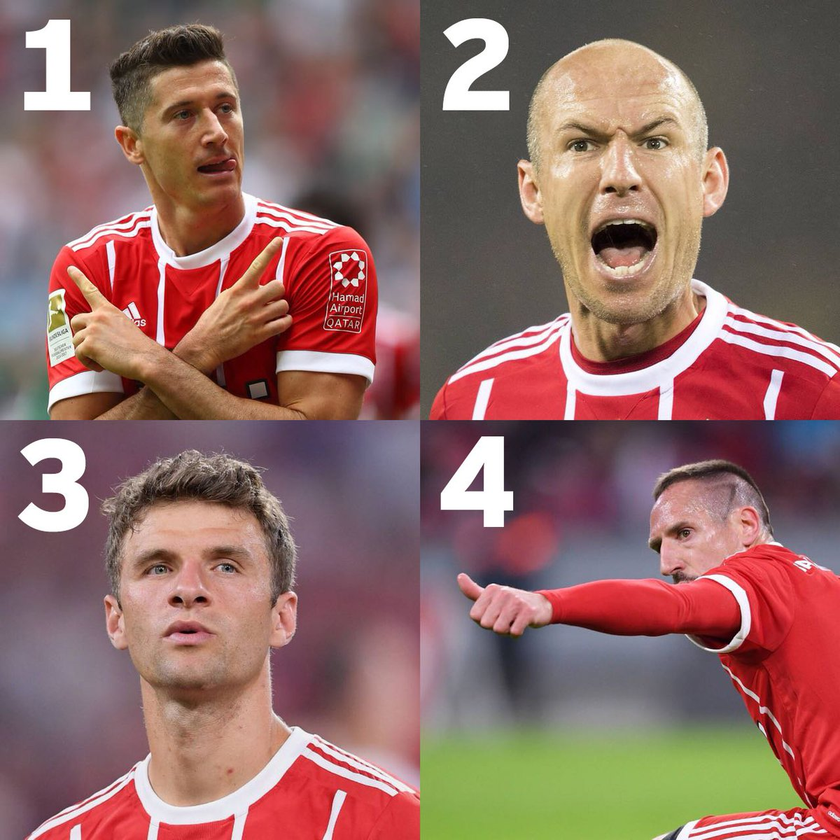 Which current #FCBayern player has score...