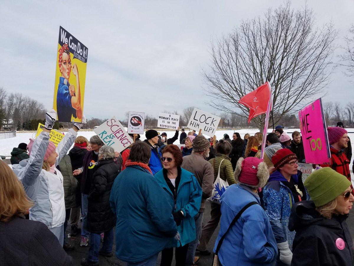 Women's March, Northampton, MA
