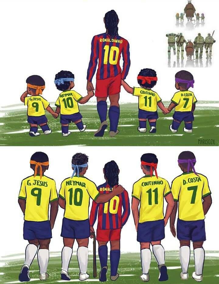 Ronaldinho 😥❤ (📸https://t.co/WHdyakdz34)