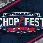 Get closer to the @Braves team than ever before during Chop Fest 2018! On Jan. 27 & 28 enjoy player autographs, live entertainment, art exhibits, and more. Admission is FREE! https://t.co/qZmmE6c3lo