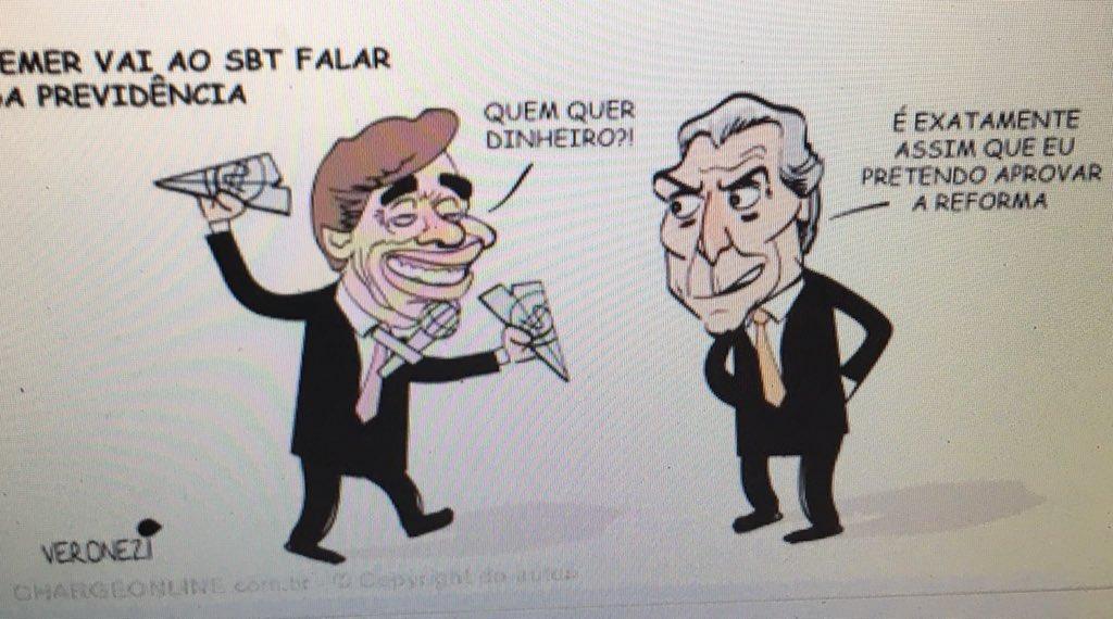 Amanhã! Temer no Silvio Santos! Quem quer dinheiro?