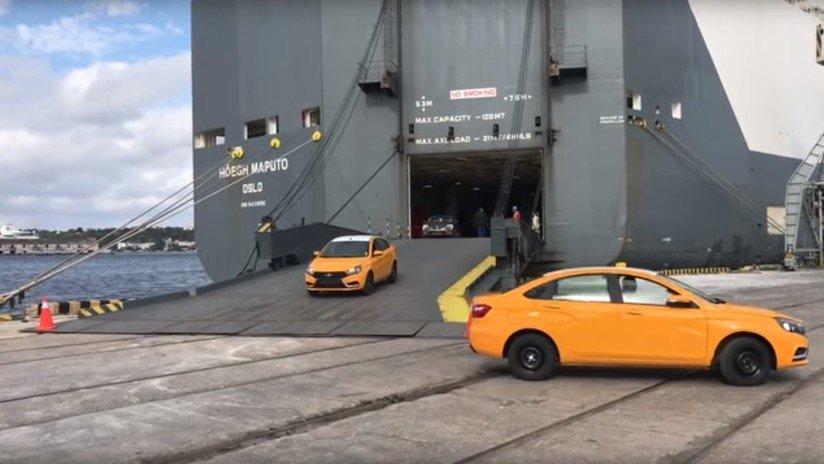 VIDEO: Rusia entrega 344 autos a Cuba para robustecer el servicio de taxi de la isla https://t.co/4FFEpNbQYO