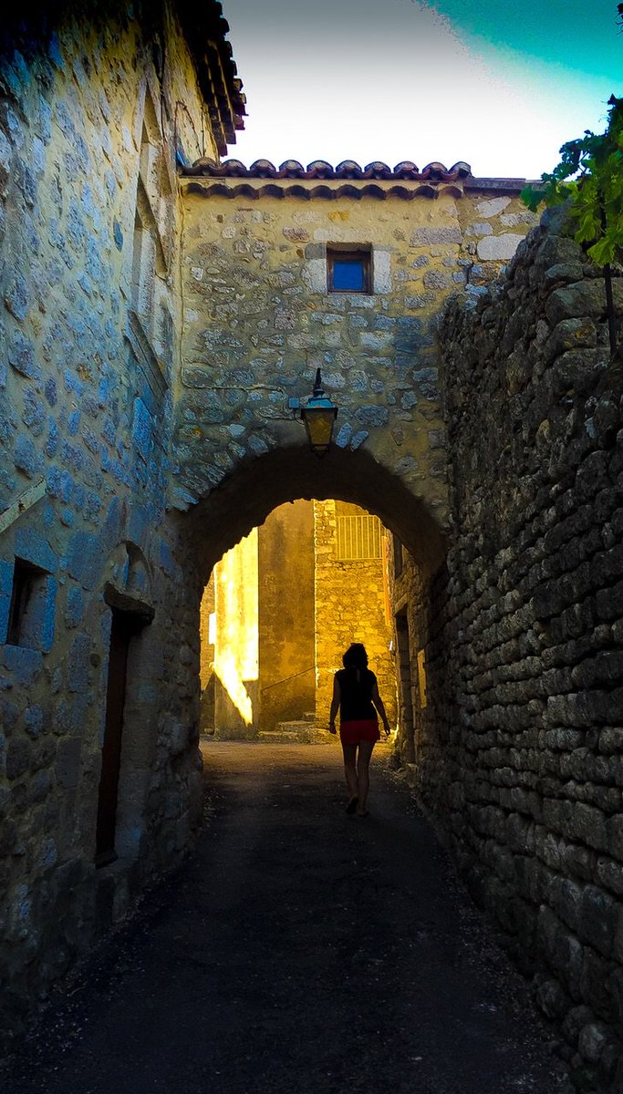 Out of the shadowlands and into the light. Tool this photo of Gemma in France two years ago. Has taken on a new poignancy.
