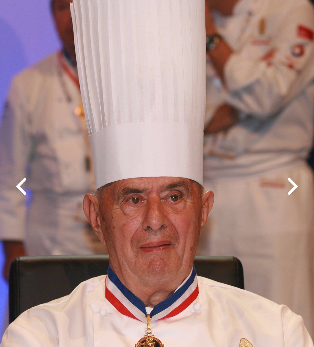 RT @jamesmartinchef: So sad to hear the greatest of them all has past . Paul Bocuse RIP https://t.co/iTgn8hrTQC