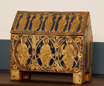 RT @museoscastyleon: Arqueta con esmaltes, procedente de Santo Domingo de Silos, siglo XI. Museo de #Burgos https://t.co/aOgTnguM0A