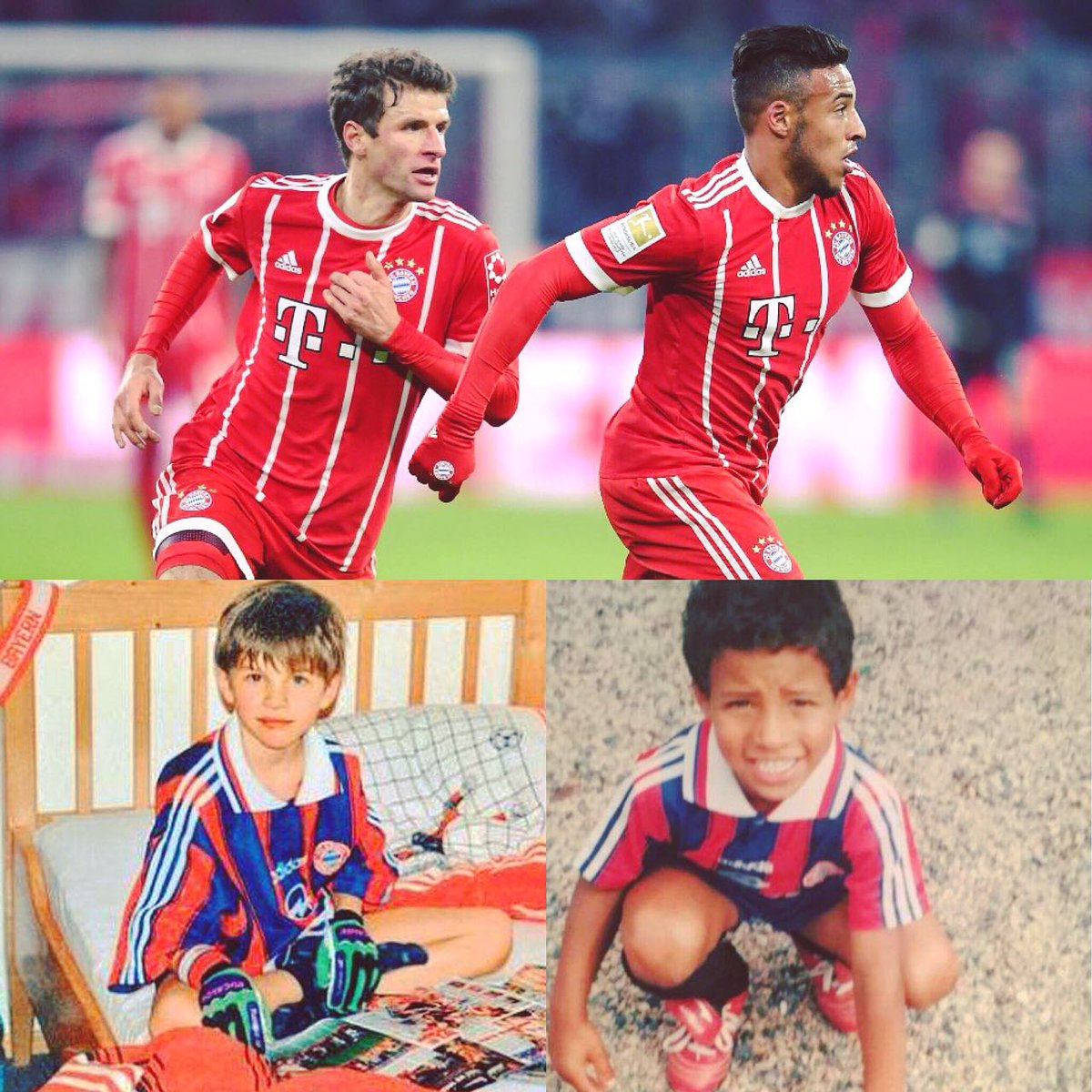 #FCBayern through and through, then and...